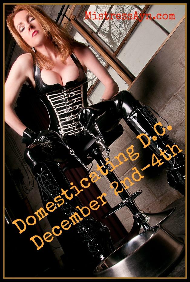 Mistress Ayn DC travel poster