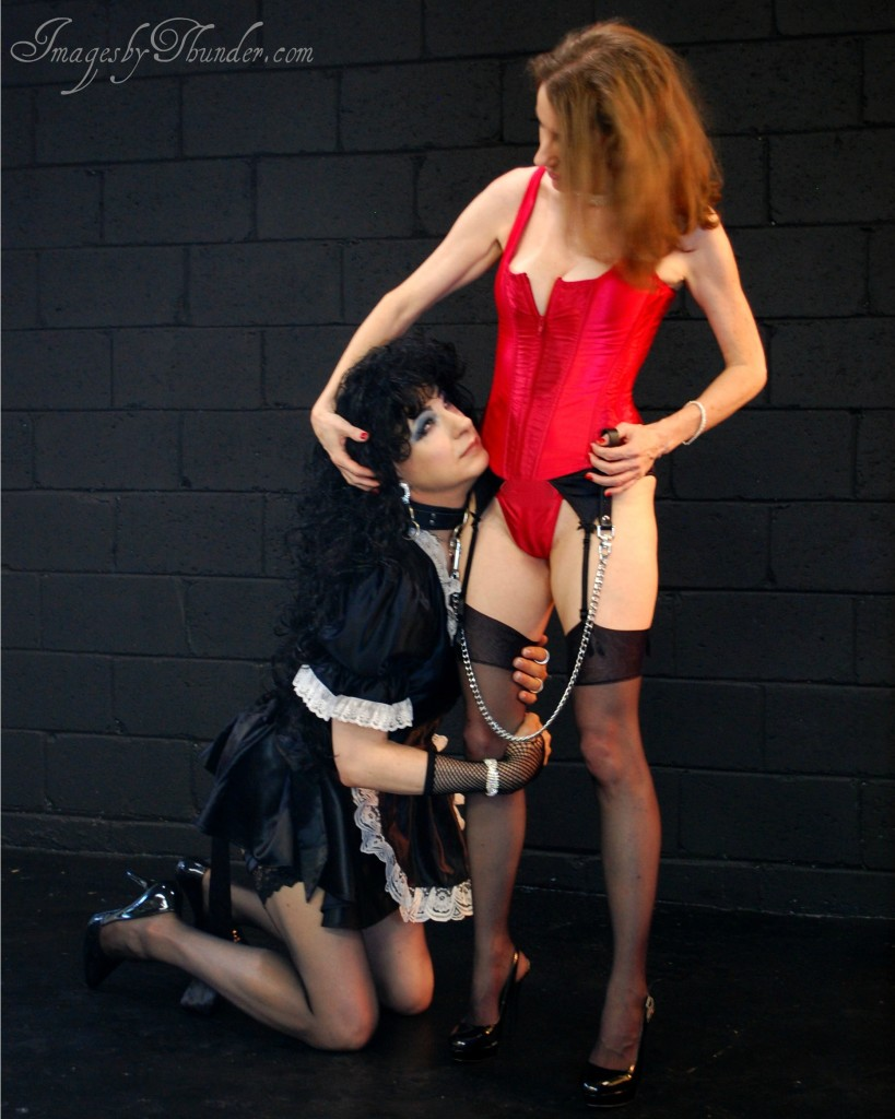 Mistress Ayn with Sissy